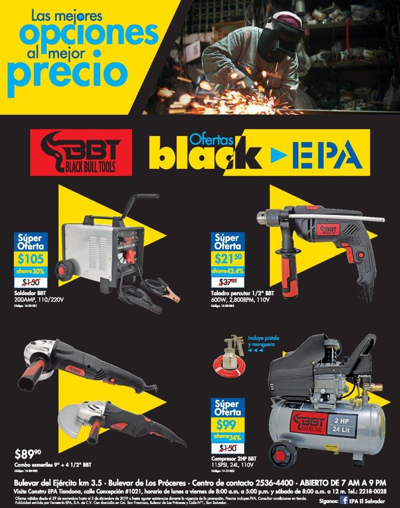 Enginering-tools-electric-deals-BLACK-EPA-el-salvador