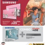 LA CURACAO blackfriday samsung screen biggest