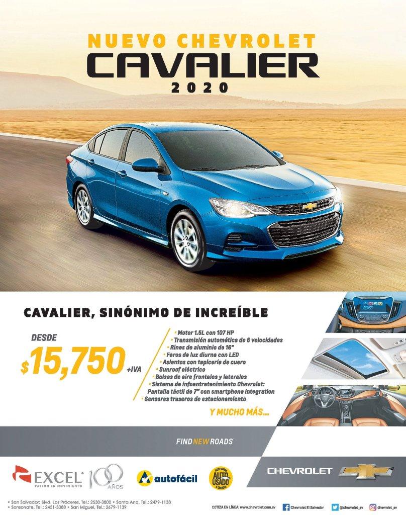 Precio-auto-sedan-CHEVROLET-cavalier-2020-el-salvador