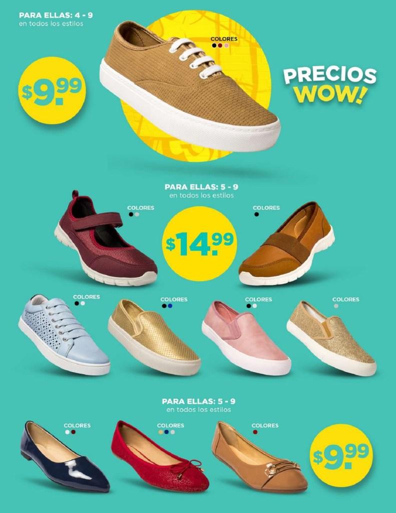 Precios WOW en descuento par2 zapatos salvadoreños