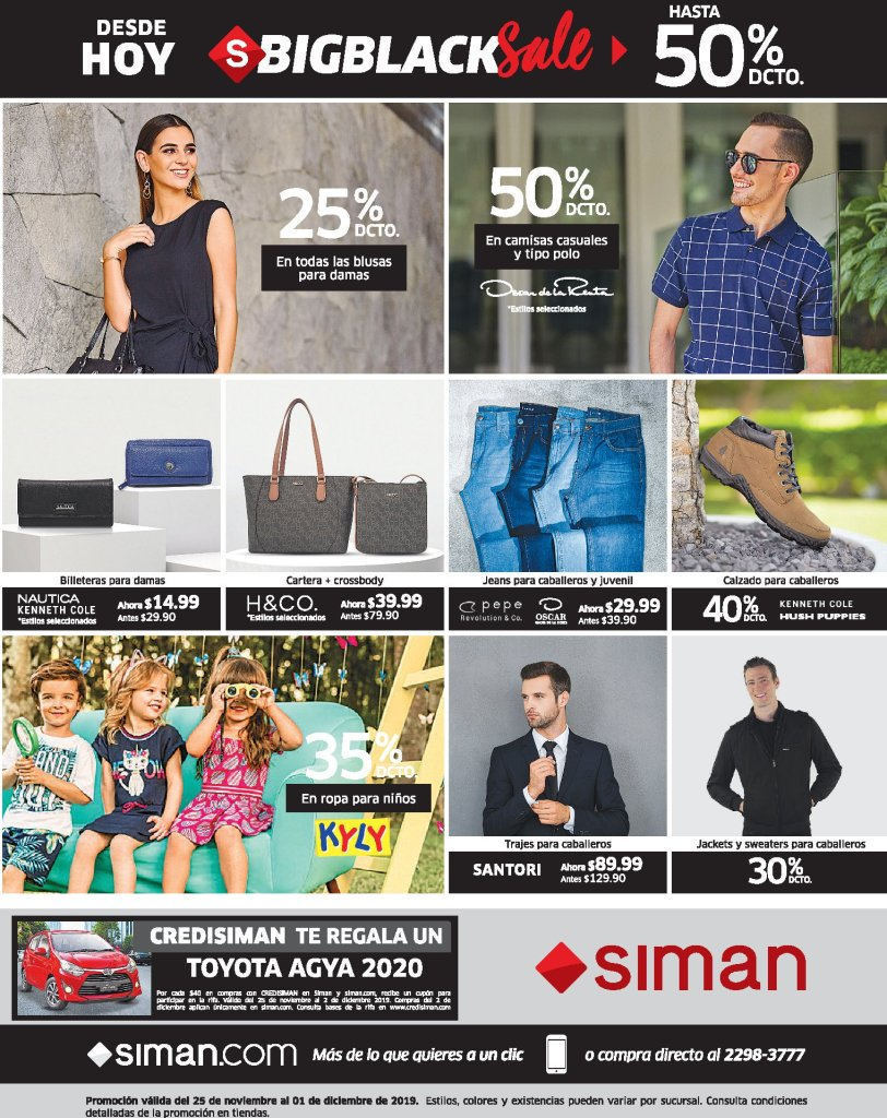 SIMAN-Black-Friday-Week-2019-descuentos-en-prendas-de-vestir-25nov19