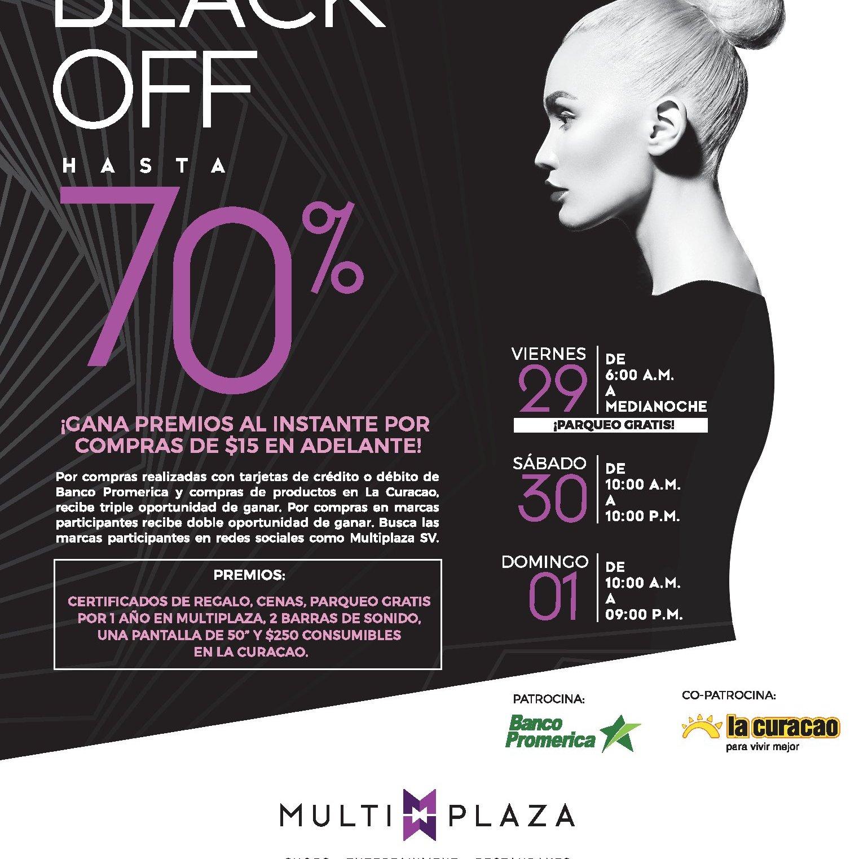 Semana-de-promociones-BLACK-FRIDAY-OFF-2019-Multiplaza-el-salvador