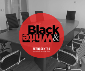 Furniture BLACK & WHITE 2019 deals (Ferrocentro)
