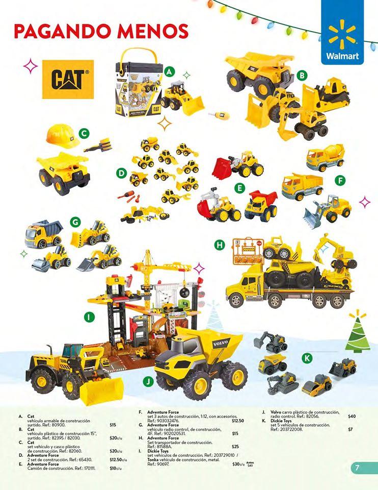 Carros CAT collection WALMART el salvador Navidad 2019