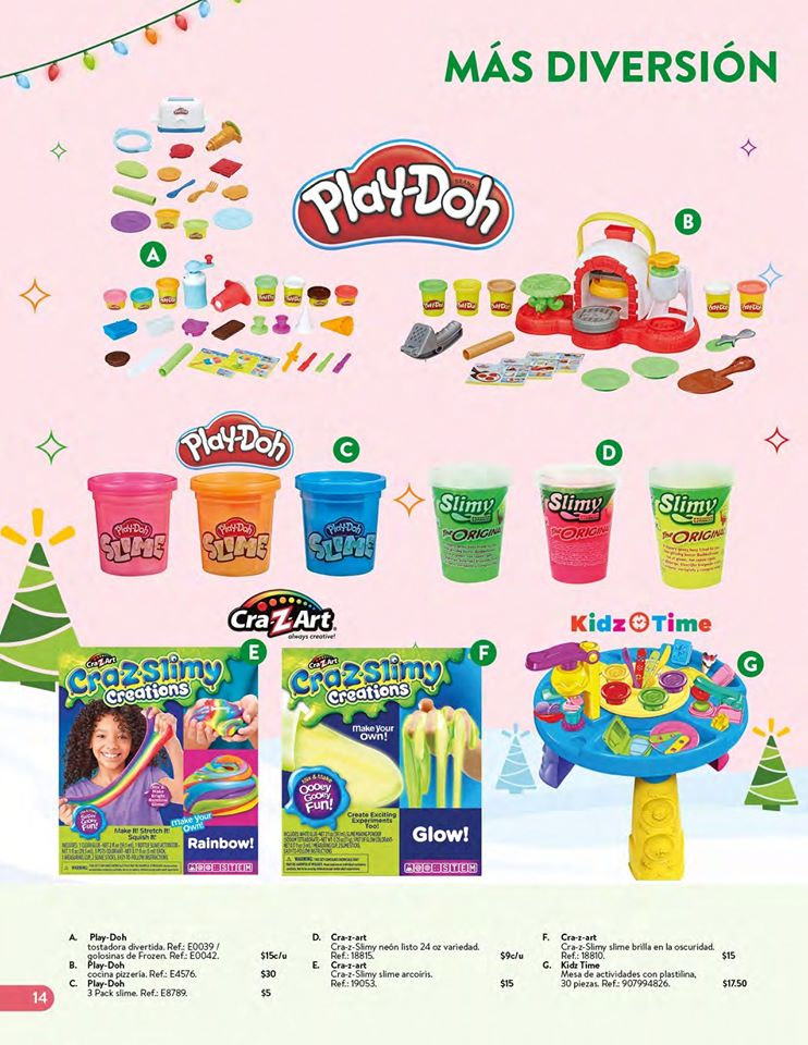 toys PLAY DOH collection WALMART el salvador Navidad 2019