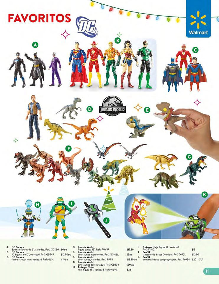 toys-SUPER-HEROES-collection-WALMART-el-salvador-Navidad-2019