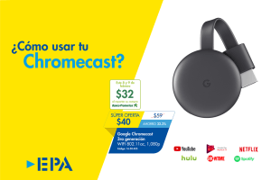 Precios del Chromecast en El Salvador (Smart TV by google)