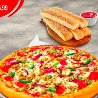 Promocion PIZZA HUT el salvador COVID-19