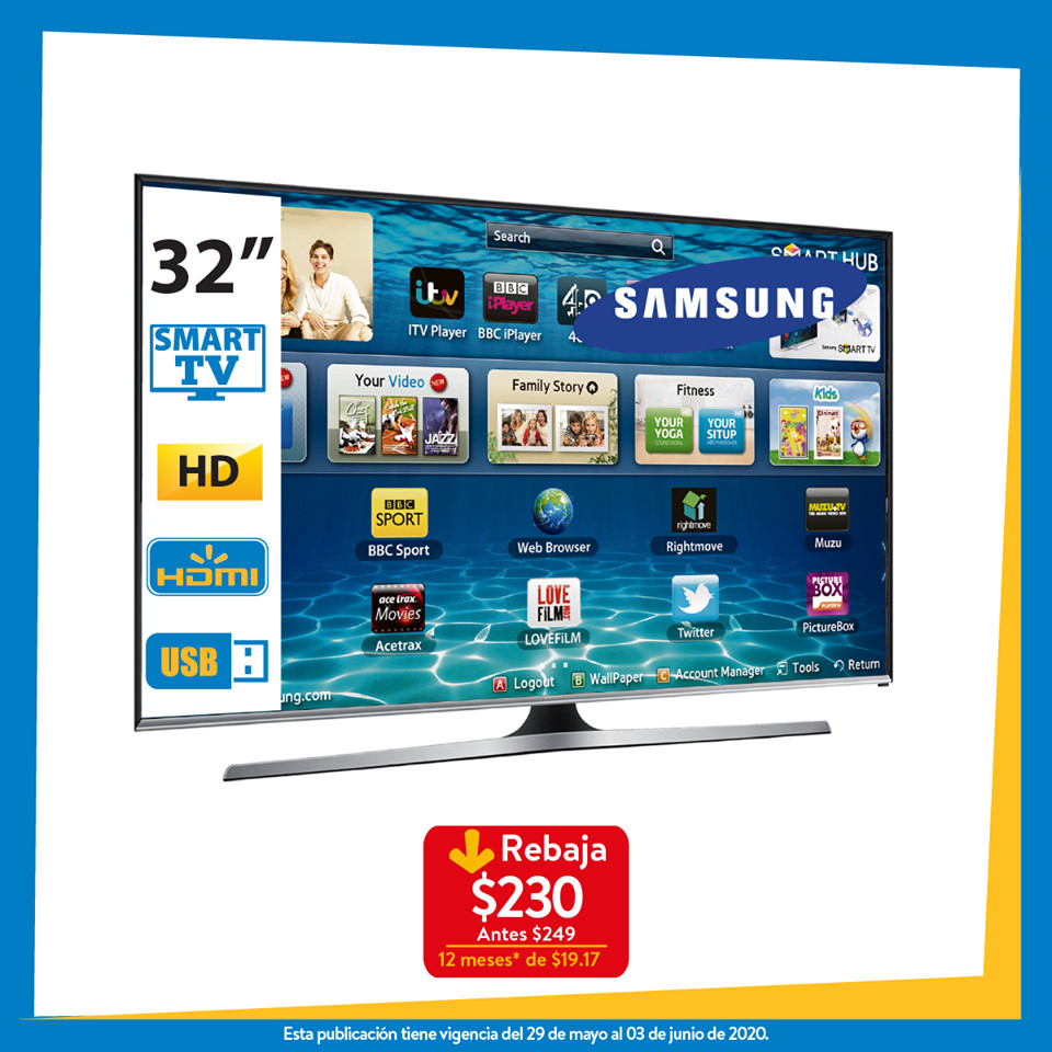 Ofertas-smart-tv-walmart-el-salvador-junio-2020