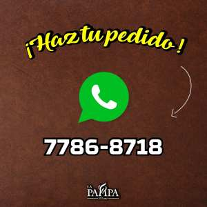 Promociones restaurantes LA PAMPA via WhatsApp