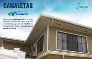 Ofertas Canaletas PVC Amanco (FREUND)