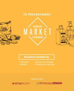 SIMAN Market corner (El Salvador)
