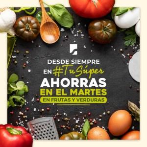 Frutas y verduras SuperSelectos ofertas (11.ago.2020)
