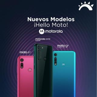 new HELLO MOTO smartphones motorola el salvador
