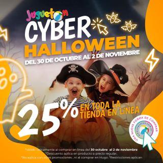 Descuento-CYBER-halloween-2020-tienda-JUGUETON-el-salvador