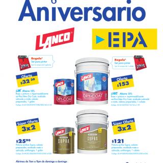 Ferreteria EPA ofertas pinturas y selladores - octubre 2020