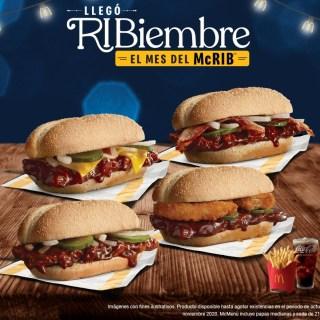 Nueva hamburguesa MCRIB de Macdonalds burguers noviembre 2020