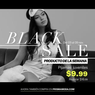Pijama juveniles PRISMA moda black sale november 2020