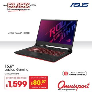 Omnisport-Laptop-GAMING-intel-core-i7-10750H-G512LIHN054T-marca-ASUS
