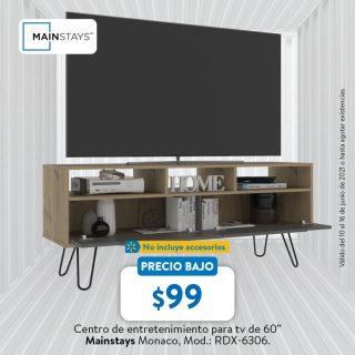 Walmart-catalogo-hogar-entertaiment-furniture-for-smart-tv-MAINSTYS-junio-2021