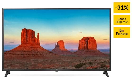 """TV LG 43UK6200 (LED – 43"""" – 109 cm – 4K Ultra HD – Smart TV)"""