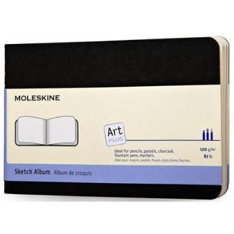 Moleskine: Caderno de Esboços Art Plus Bolso