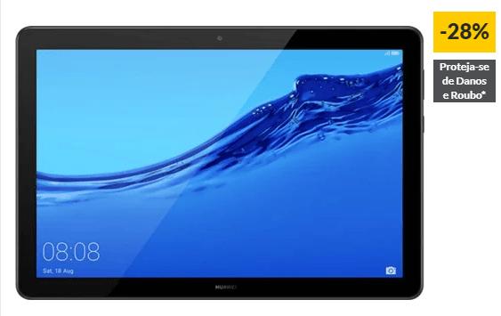 """Tablet HUAWEI T5 (10.1"""" – 32 GB – RAM: 3 GB – Preto)"""