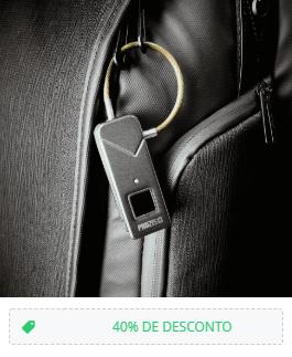 Cadeado com Impressão Digital FL-S2 – Preto