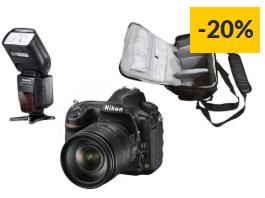 Kit Máquina Fotográfica Reflex NIKON D850 + AF-S NIKKOR 24-120mm f/4G ED VR
