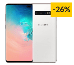"Smartphone SAMSUNG Galaxy S10+ (6.4"" – 12 GB – 1 TB – Branco Cerâmico)"