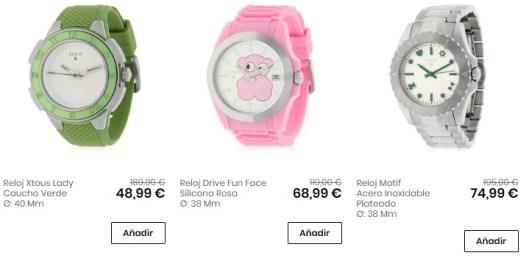 últimas tendencias de 2019 diversos estilos una gran variedad de modelos Relojes Tous baratos en Aliexpress, Amazon, Privalia ...