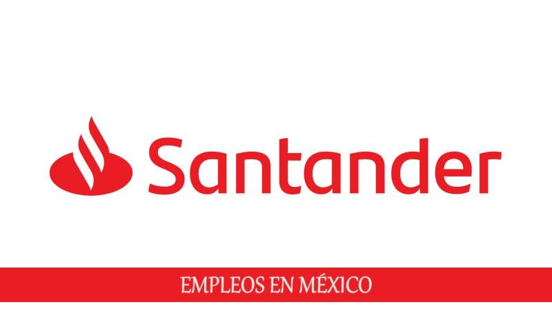 Banco Santander oferta laboral para personal sin experiencia