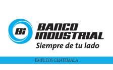 Trabajos en Banco Industrial para personal capacitado