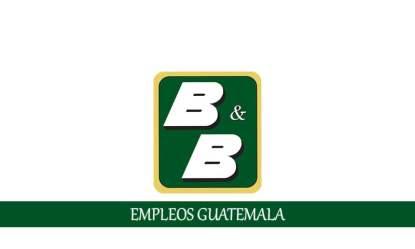 Trabajos disponibles en BYB para personal sin experiencia