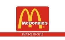 Empleos en McDonalds Chile para personal con o sin experiencia