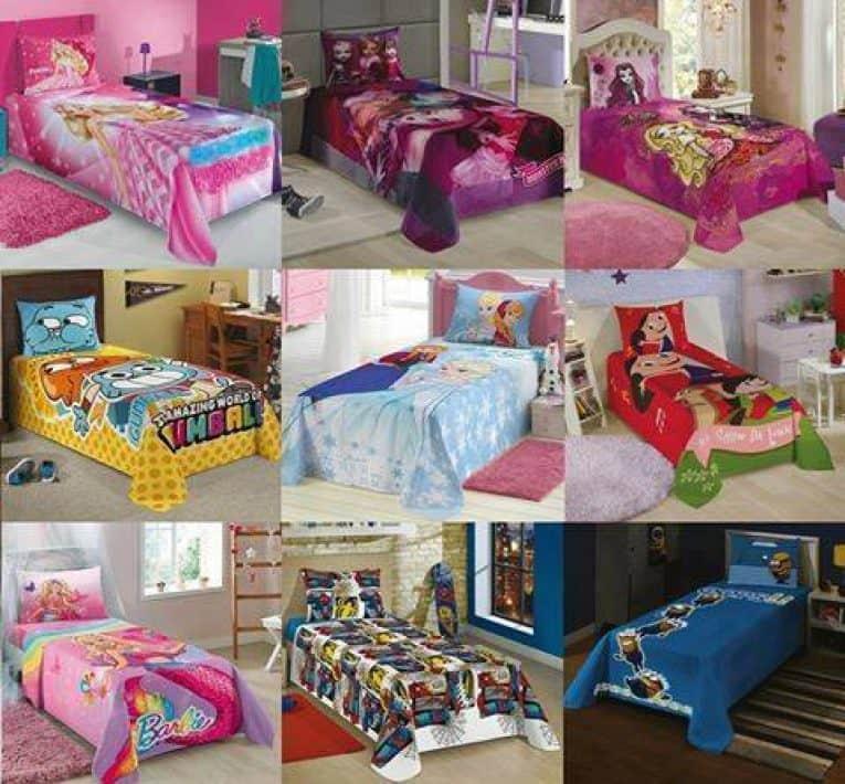 e7a7d95494 Jogo de cama Infantil Personagens 2 Peças – Ofertinha Promoções