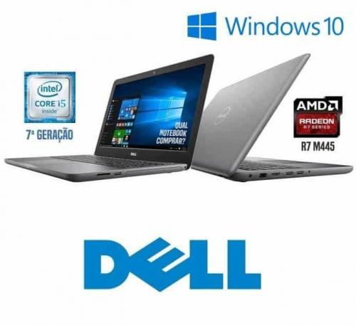 Notebook Dell Inspiron i15-5567-A30B Intel Core i5 8GB (AMD