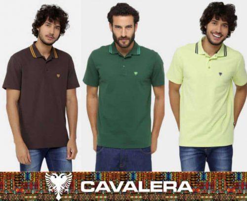 e3504834155a4 CAMISA POLO CAVALERA BÁSICA BORDADO – Ofertinha Promoções
