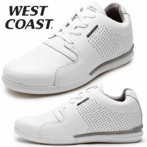 c6b95298dc Sapatênis Couro West Coast Dickinson Branco – Ofertinha Promoções