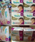 Kit de Fraldas Pampers Mega Premium Care