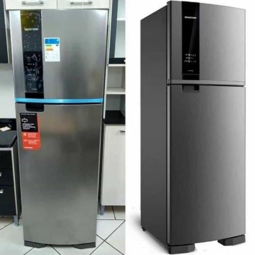 acf9a07df Geladeira Refrigerador Brastemp Frost Free BRM45 – Evox 375 Litros – Inox
