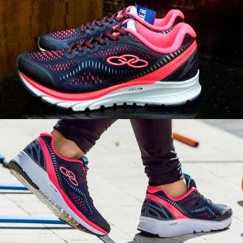 c7ebe122440 Tênis Olympikus Challenger Feminino - Marinho e Pink – Ofertinha ...