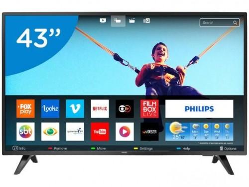 "1825a9401 Smart TV LED 43"" Philips Full HD 43PFG5813 78 - Conversor Digital Wi ..."