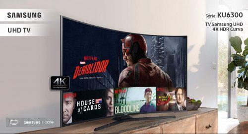 185ee04f6 Smart TV LED Tela Curva 40
