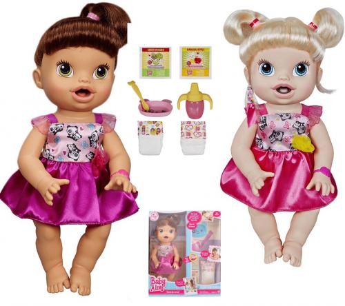 d3e39efa1c Boneca Baby Alive Hora de Comer Hasbro - Morena ou Loira – Ofertinha ...