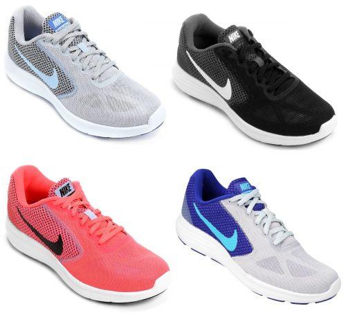 cf0e5d683bf93 Tênis Nike Revolution 3 feminino – Ofertinha Promoções