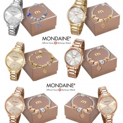 e2b0b8fb2 Relógios Femininos Mondaine com Pulseira Vários Modelos – Ofertinha ...