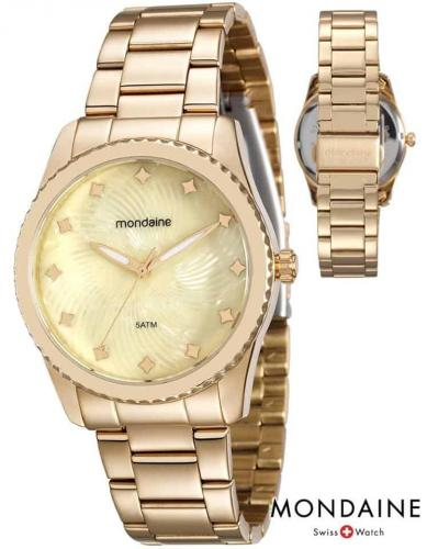 5d8bd74ade0 Relógio Feminino Mondaine Analógico - Resistente à Água 94988LPMVDE1 ...