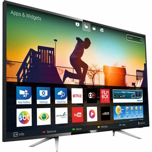 b1f88f31c Smart TV LED 50″ Philips 50PUG6102 78 UHD 4K com Conversor Digital 4 HDMI