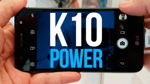 077a80279 Smartphone LG K10 TV Power com 32GB